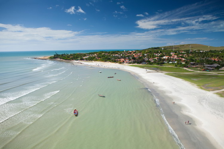 Village and resorts in Ceara, Brazil