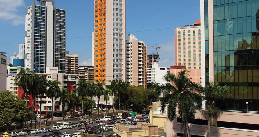 Panama's Economy is developing as fast as it's banking district