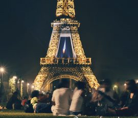 One of the most iconic simbols of France, The Eiffel Tower
