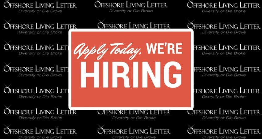 Apply today for Offshore Living Letter.