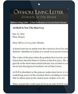 offshore living letter ipad advertising