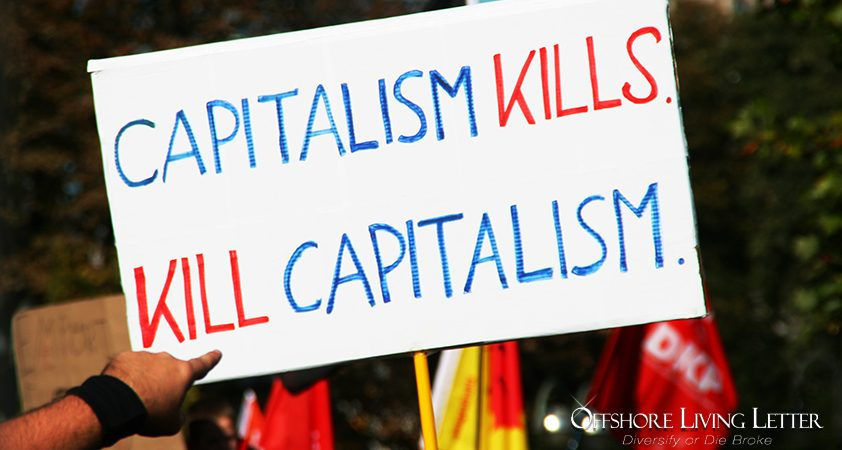 anti capitalism. It seems everyone hates capitalism these days.