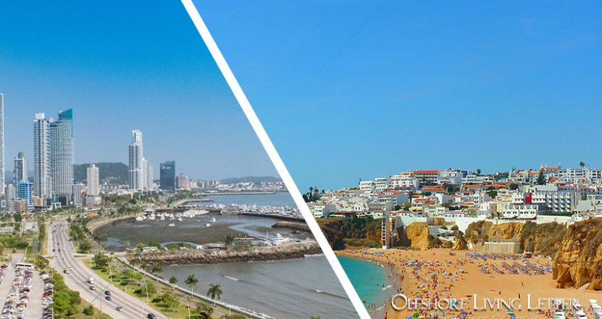 Five Flags: Comparing Panama And Portugal