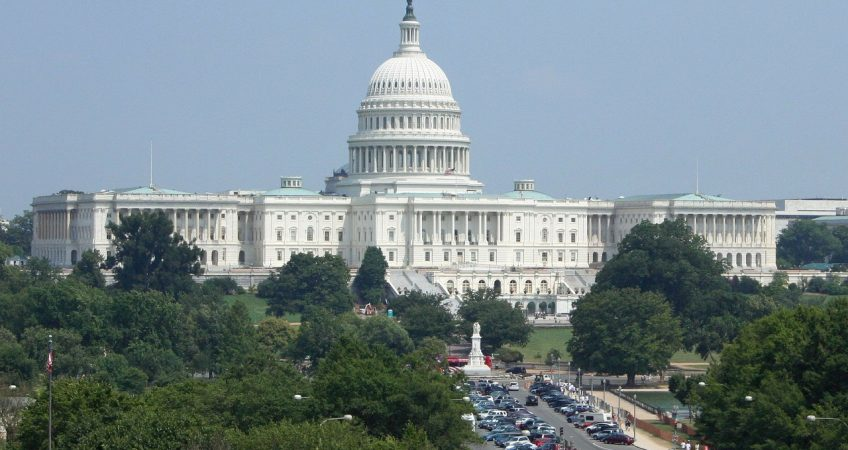 Will Congress Eliminate Worldwide Taxation Of U.S. Citizens? vuew of the US capitol building