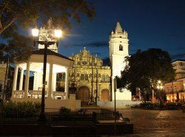 Casco Viejo Panama City At Night