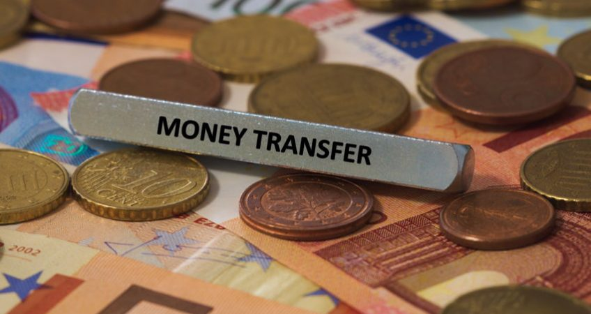 Money transfer overseas