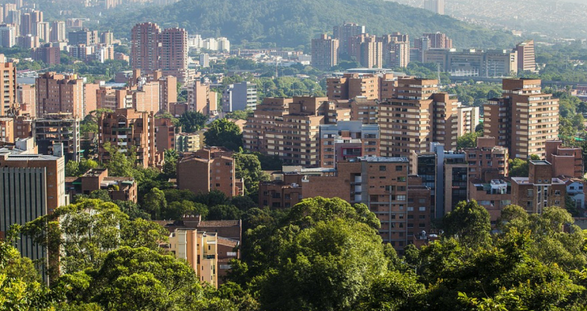 view of medellin appartments