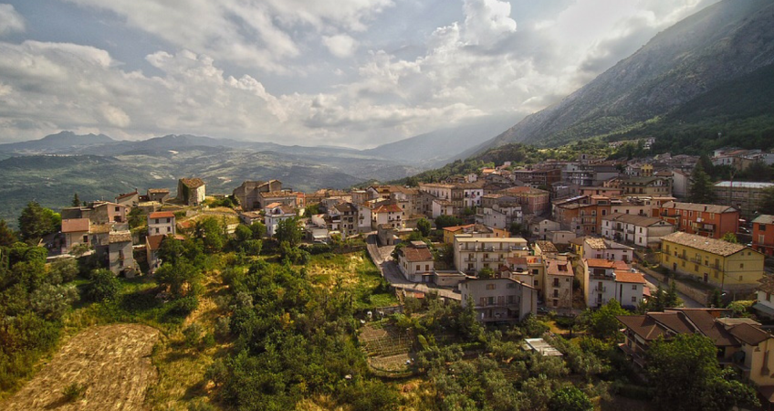 Town in Abruzzo, Italy