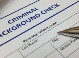 Criminal background form