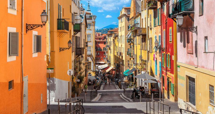 Street in Nice, France