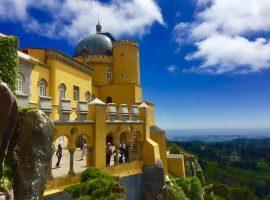 view across lisbon portugal