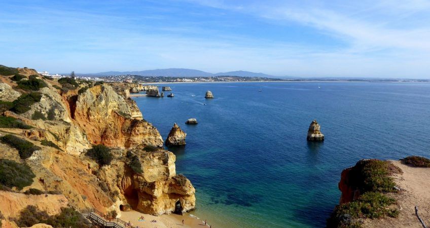 algarve lagos portugal coast