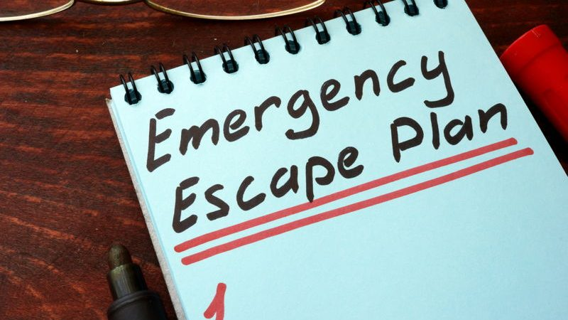 Emergency Escape Plan Image