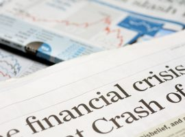 newspapers warning of a financial crisis