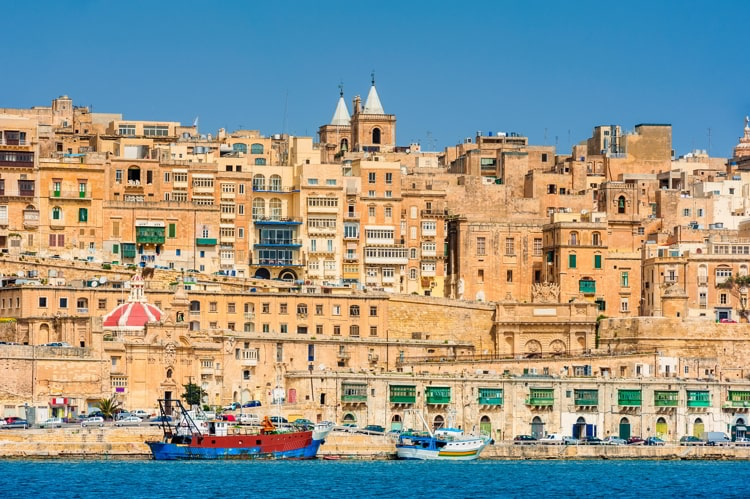 Fortified city of Valletta, Malta