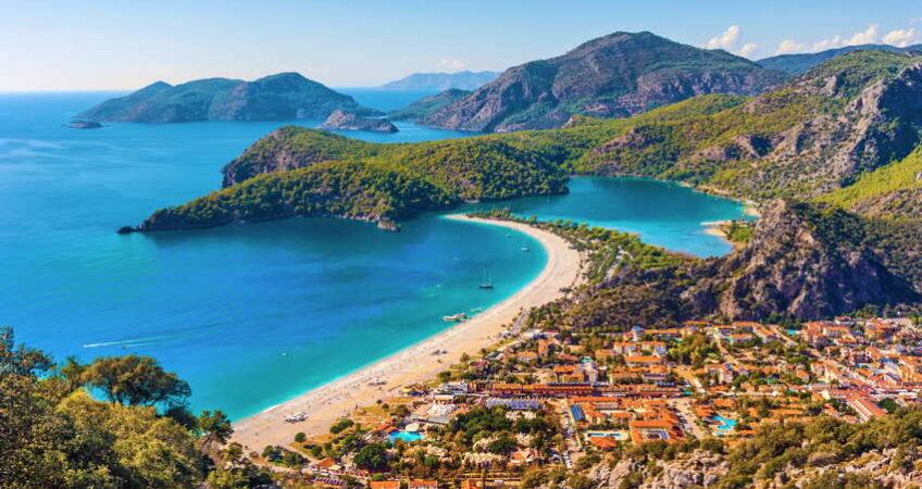 beach town in turkey