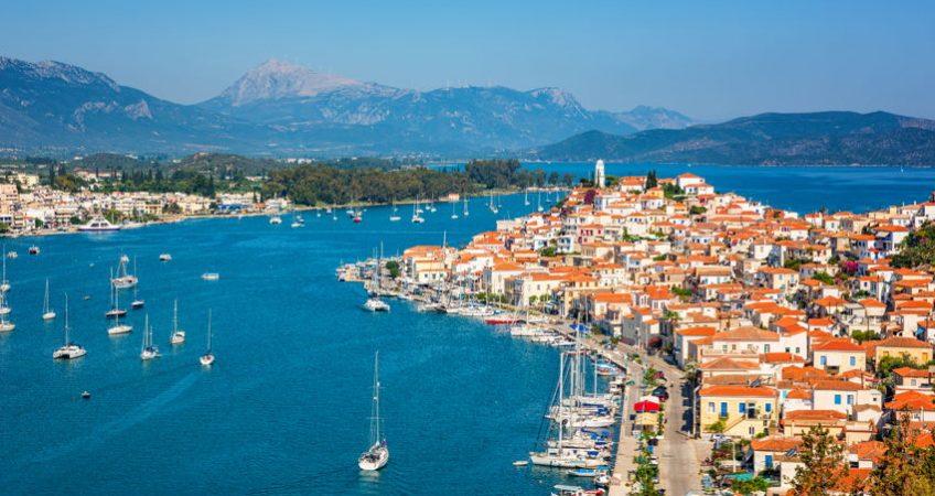 Greece sunny day