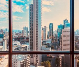 view from a panama city apartment