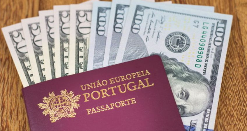 portugal passport and dollars