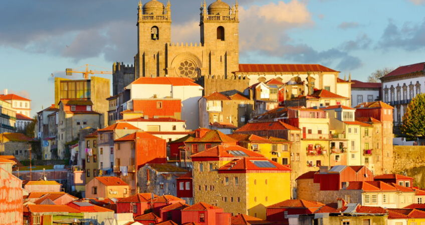 old town in porto