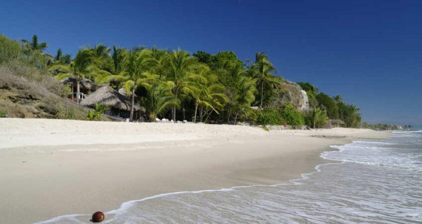 Riviera Nayarit beach Mexico
