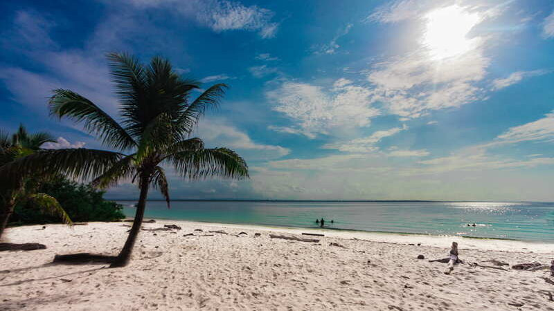 caribbean beach in Panama