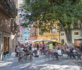 Guanajuato colonial town in Mexico