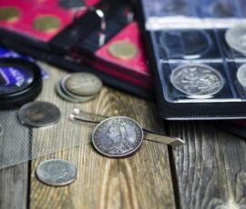 numismatics collection precious metals coins