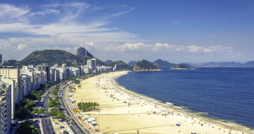 beach and apartments brazil
