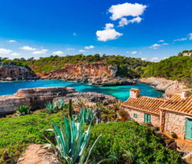 a house by the sea mediterranean