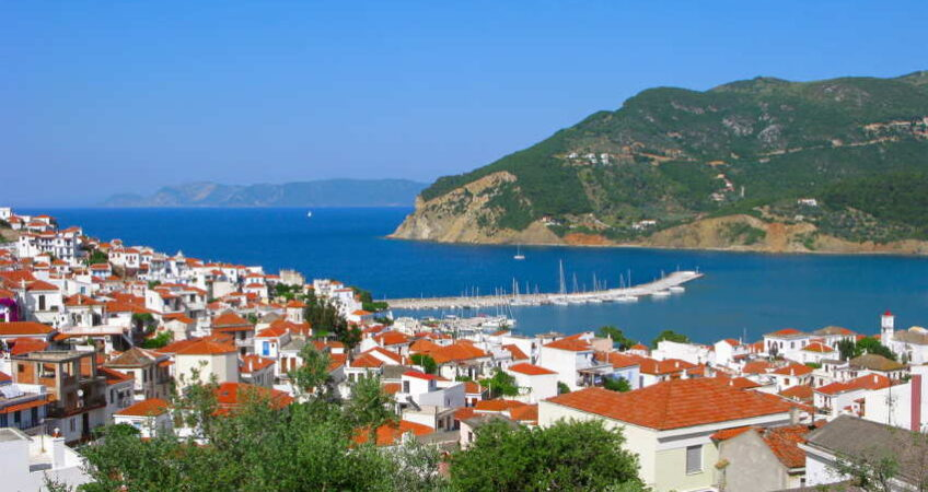 Small town in the Mediterranean