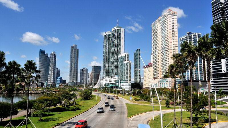 Street scene Panama City, Panama.