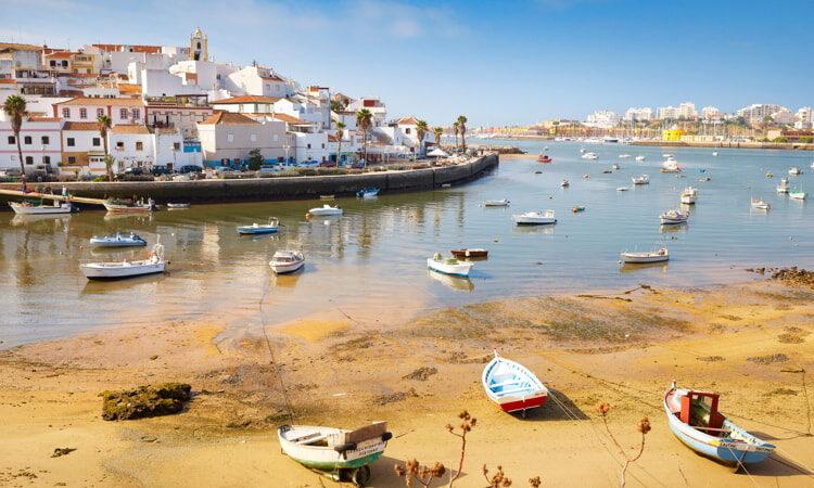 Ferragudo, Algarve, Portugal.