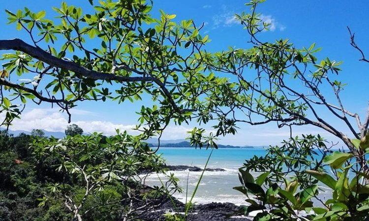 Beach at los Islotes in Azuero Panama