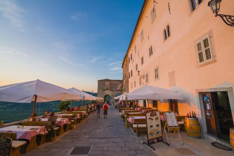 Motovun, Istria, Croatia