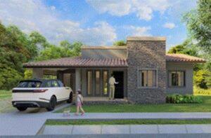 Altos del Coquito house render
