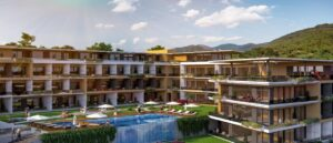 Render of the project in Tivat, Montenegro