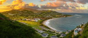 St. Kitts and Nevis in the morning